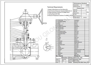 orbit ball valve design cad dwg
